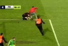Aggressione arbitro in Turchia